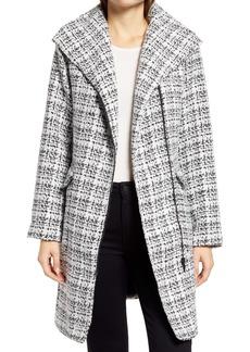 Halogen® Moto Tweed Coat