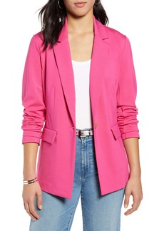 Halogen® One-Button Ponte Jacket (Regular & Petite)