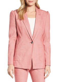 Halogen® One-Button Blazer (Regular & Petite)