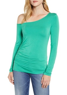 Halogen® One-Shoulder Top