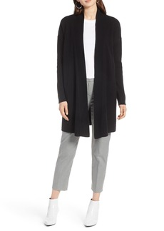 Halogen® Open Front Drape Cardigan (Regular & Petite)