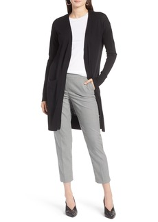 Halogen® Open Front Pocket Cardigan (Regular & Petite)