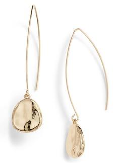 Halogen® Organic Drop Earrings