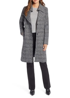 Halogen® Overlapping Collar Coat