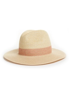 Halogen® Packable Panama Hat