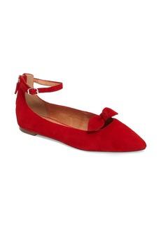 Halogen® Paisley Ankle Strap Flat (Women)