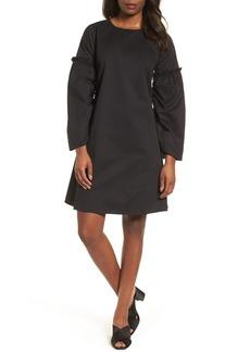 Halogen® Parachute Sleeve Shift Dress (Regular & Petite)