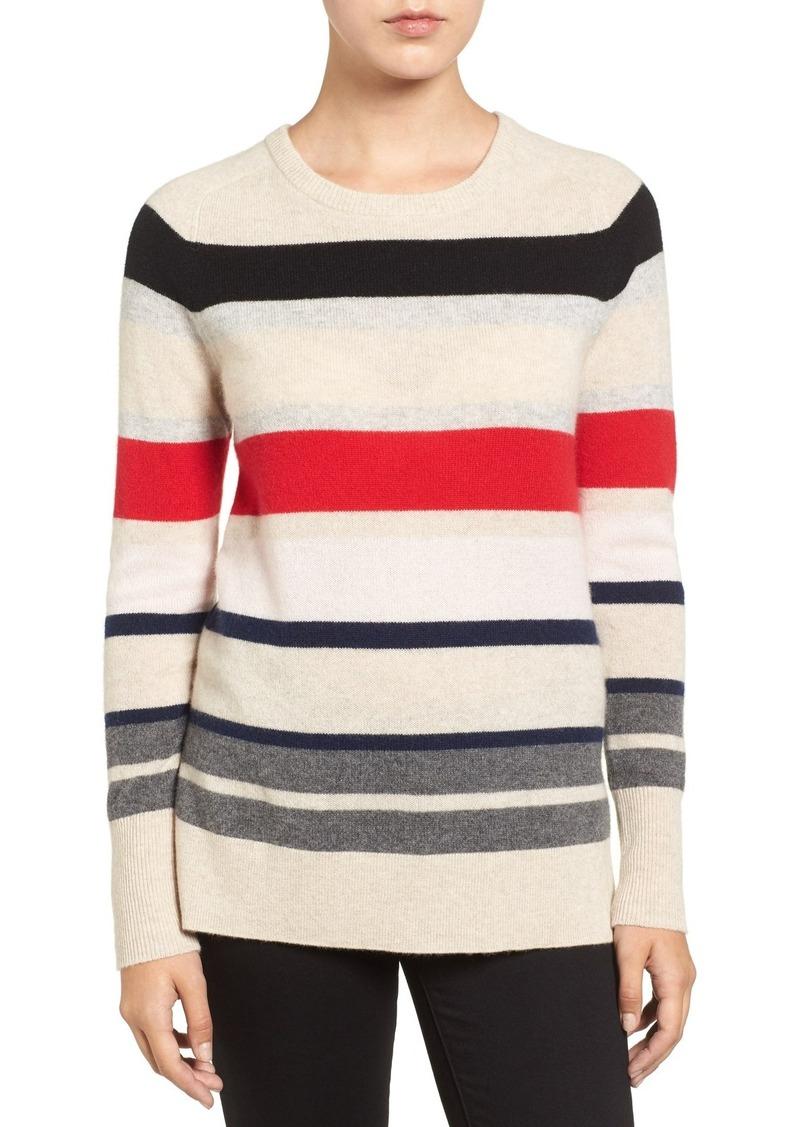 Halogen Halogen® Patterned Cashmere Sweater (Regular & Petite ...