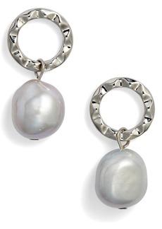Halogen® Pearl Drop Earrings