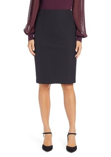 Halogen® Pencil Skirt (Regular & Petite)