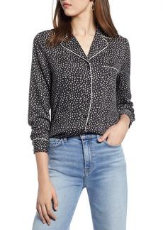 Halogen® Piped Shirt (Regular & Petite)