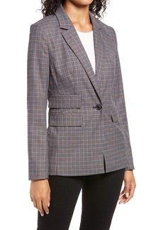 Halogen® Plaid Blazer