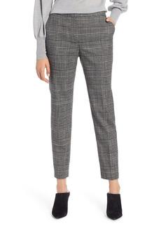 Halogen® Plaid Skinny Pants
