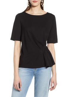 Halogen® Pleat Front Top