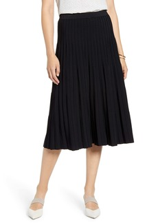 Halogen® Pleated Knit Skirt
