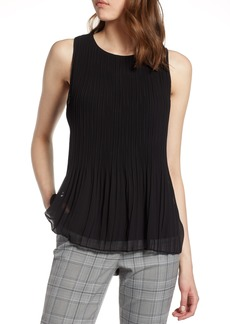 Halogen® Pleated Top (Regular & Petite)