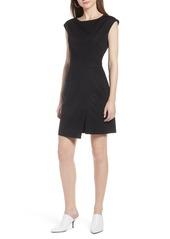 Halogen® Pocket Dress (Regular & Petite)
