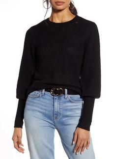 Halogen® Pointelle Sweater