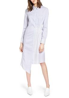 Halogen® Poplin Shirtdress (Regular & Petite)