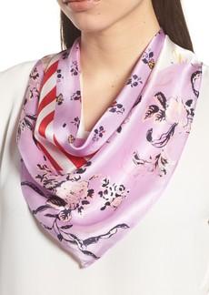 Halogen® Print Silk Scarf