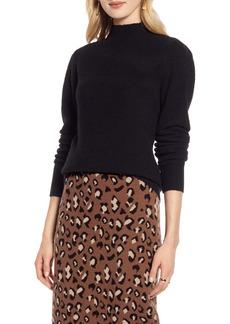 Halogen® Puff Shoulder Sweater