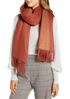 Halogen® Reversible Cashmere Blanket Scarf