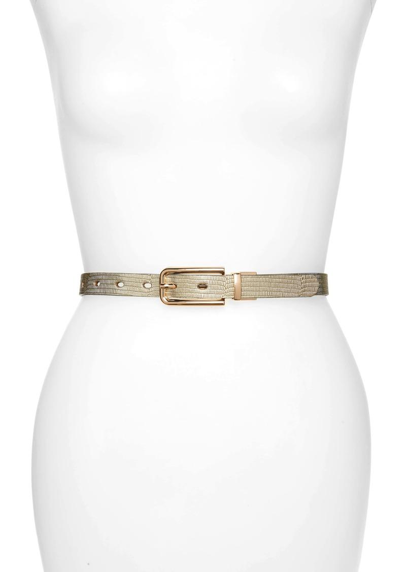 Halogen® Reversible Twist Belt