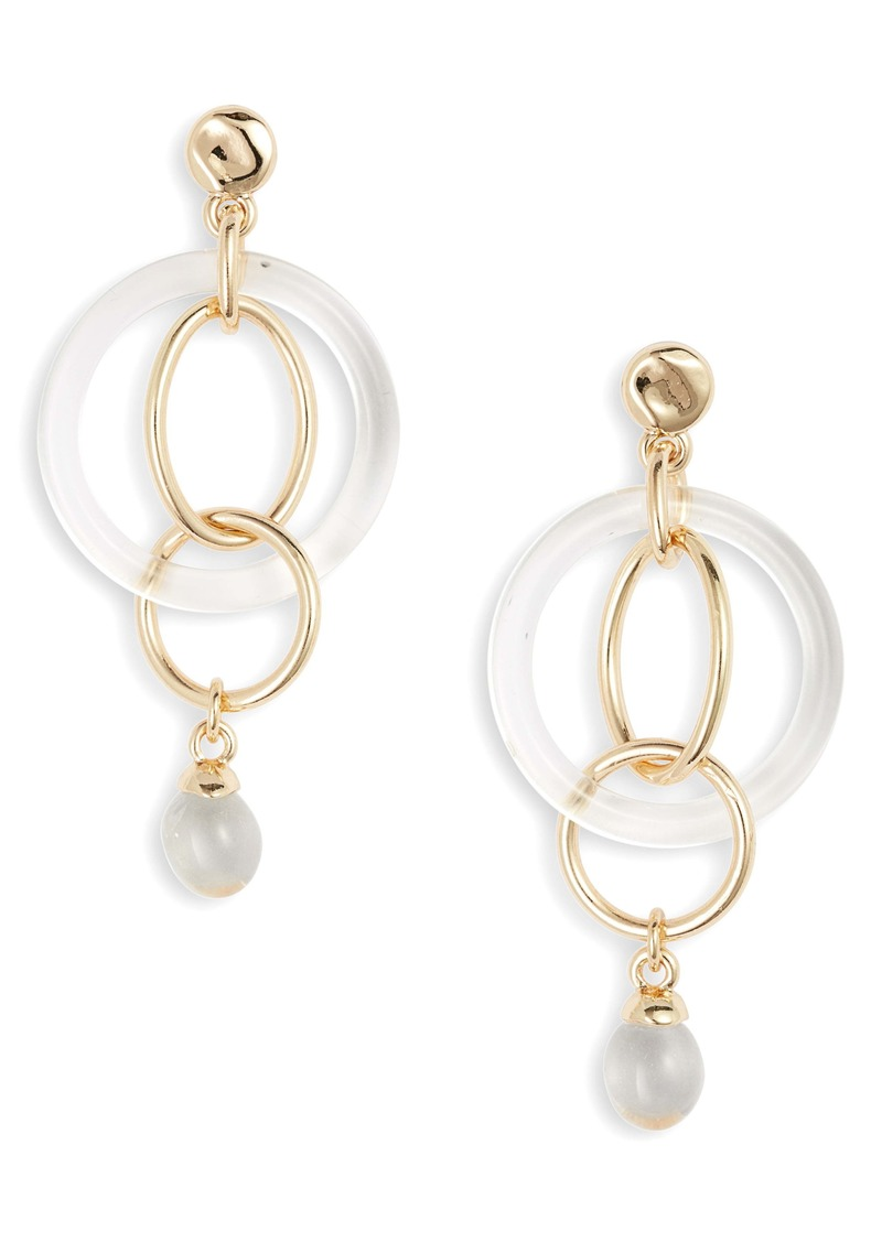 Halogen® Ring Drop Earrings