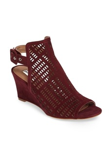 Halogen® Rosina Laser Cut Wedge Sandal (Women)