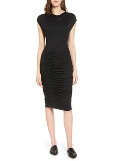 Halogen® Ruched Detail Sheath Dress