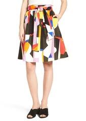 Halogen® Sash Tie Skirt (Regular & Petite)