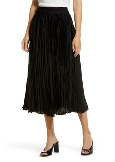 Halogen® Satin Skirt (Regular & Petite)