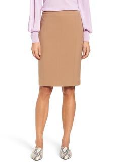 Halogen® Seamed Pencil Skirt (Regular & Petite)