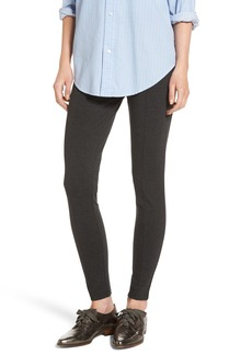 Halogen® Seamed Ponte Knit Leggings (Regular & Petite)