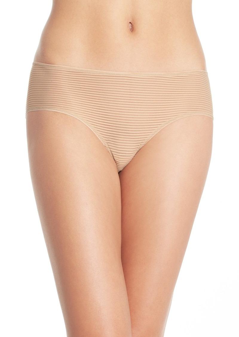 Halogen® Shadow Stripe Hipster Panty