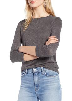 Halogen® Shimmer Sweater (Regular & Petite)