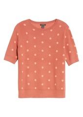 Halogen® Short Sleeve Sweater