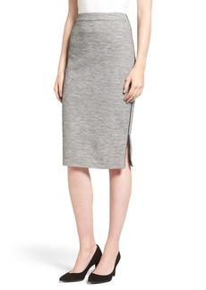 Halogen® Side Zip Pencil Skirt (Regular & Petite)