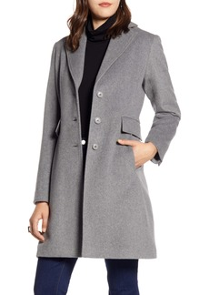 Halogen® Single Breast Wool Blend Jacket