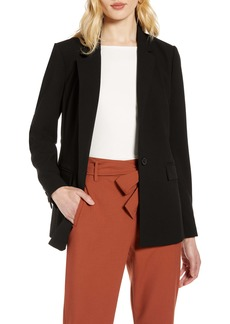 Halogen® Single Breasted Blazer (Regular & Petite)