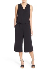 Halogen® Sleeveless Jersey Crop Jumpsuit (Regular & Petite)