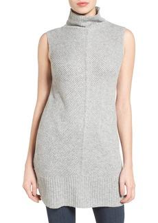 Halogen® Sleeveless Tunic Sweater (Regular & Petite)