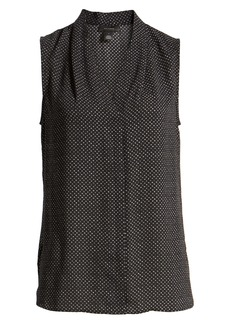 Halogen® Sleeveless V-Neck Top
