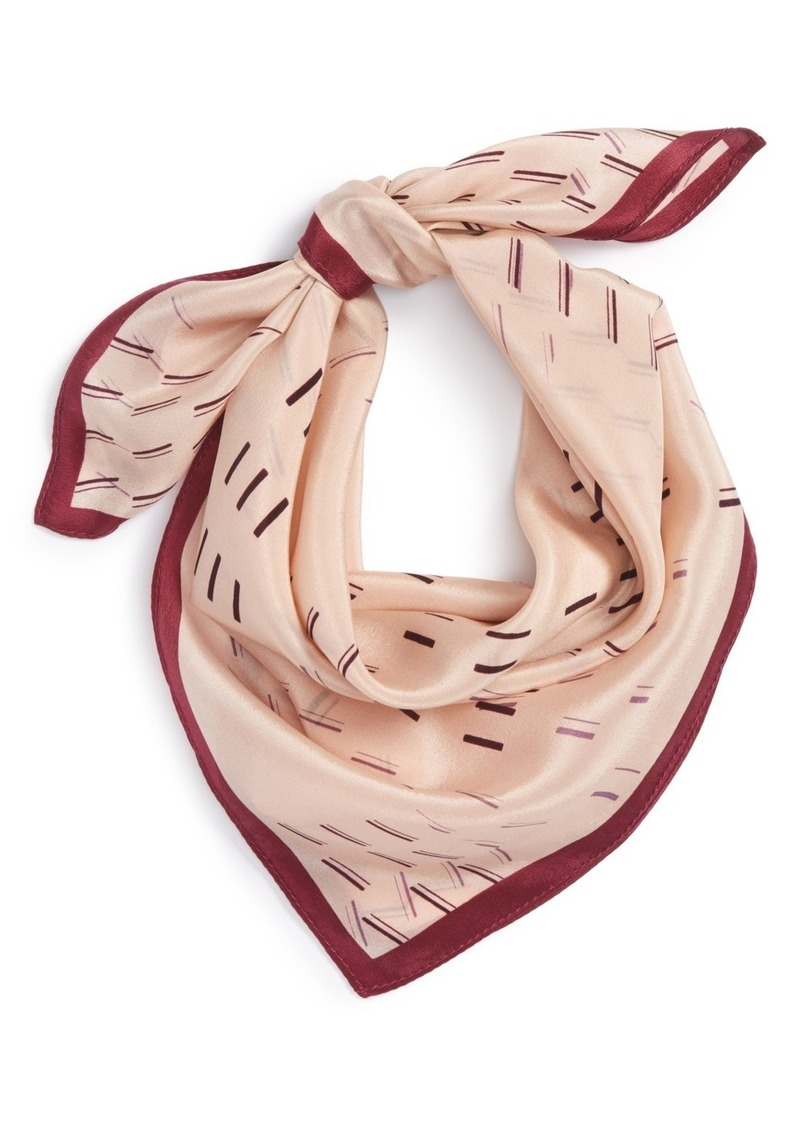 Halogen® Square Silk Scarf