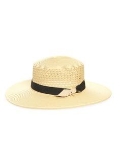 Halogen® Straw Boater Hat