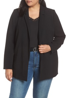 Halogen® Stretch Twill Blazer (Plus Size)