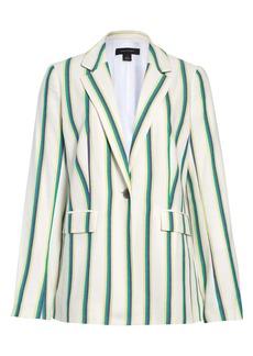 Halogen® Stripe Blazer (Regular & Petite)