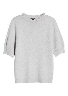 Halogen® Stripe Rib Sweater