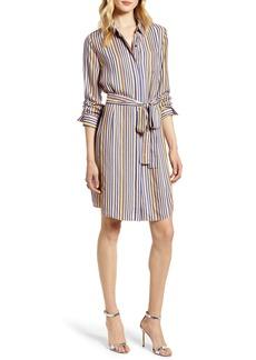 Halogen® Stripe Shirtdress