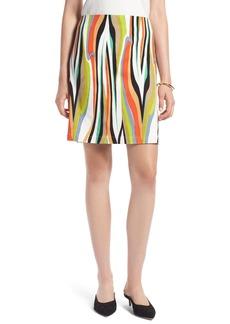 Halogen® Stripe Skirt (Regular & Petite)
